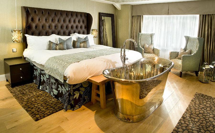 Copper Bath Bedroom