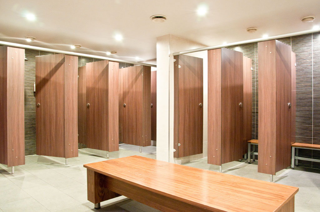 Spa Changing Room